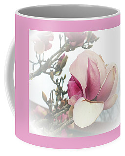 Soft Pink Flower Coffee Mug by Ellen O'Reilly