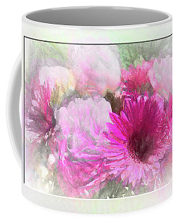 Soft Pink Gerbera Coffee Mug
