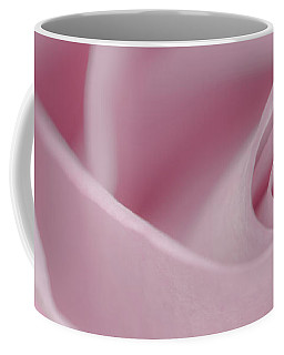 Soft Pink Rose Macro  Coffee Mug