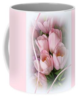 Soft Pink Tulips Coffee Mug