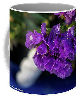 Soft Purple Straw Flower Coffee Mug