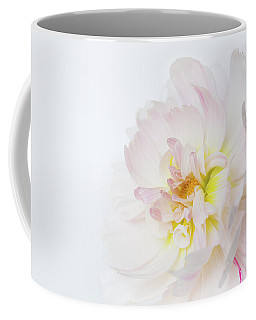 Coffee Mug featuring the photograph Soft Ruffles by Mary Jo Allen