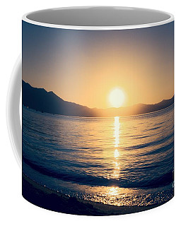 Soft Sunset Lake Coffee Mug