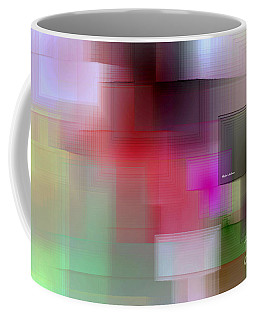 Coffee Mug featuring the digital art Soft View In 3 Stages by Rafael Salazar