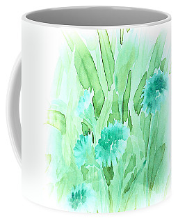 Soft Watercolor Floral Coffee Mug