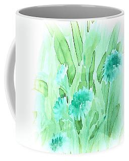 Soft Watercolor Floral Coffee Mug by Judy Palkimas