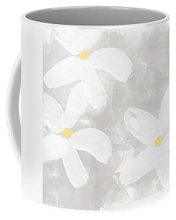 Soft White Flowers Coffee Mug