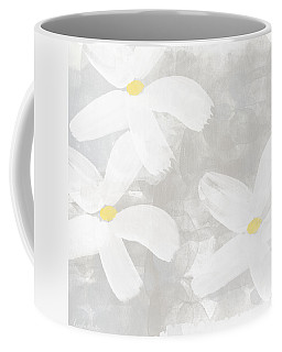 Soft White Flowers Coffee Mug