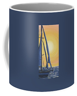 Softly Setting Sun Coffee Mug
