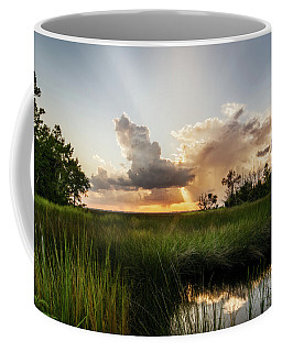 Softly The Evening Came With The Sunset Coffee Mug