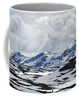 Sognefjell Mountain Coffee Mug by Terence Davis