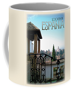 Sojourn In Espania Coffee Mug