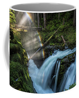 Coffee Mug featuring the photograph Sol Duc Enchantment by Expressive Landscapes Fine Art Photography by Thom