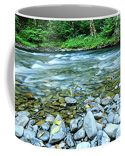 Sol Duc River In Summer Coffee Mug