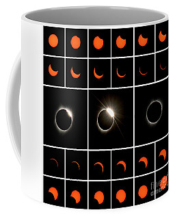 Solar Eclipse Composite Coffee Mug