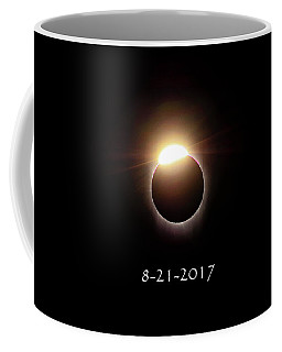Solar Eclipse Diamond Phase Coffee Mug
