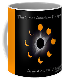 Solar Eclipse Stages Coffee Mug
