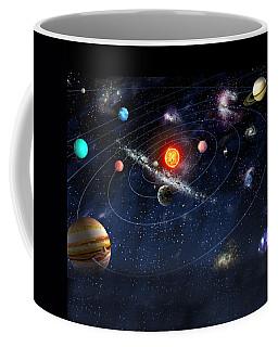 Solar System Coffee Mug by Gina Dsgn