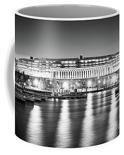 Soldier Field Black And White Photo Coffee Mug