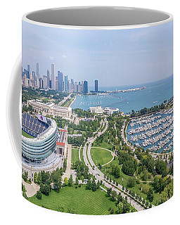 Soldier Field Panorama Coffee Mug