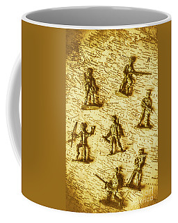 Soldiers And Battle Maps Coffee Mug