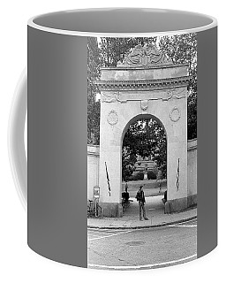 Soldiers Memorial Gate, Brown University, 1972 Coffee Mug