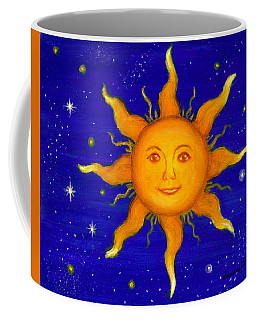 Coffee Mug featuring the painting Soleil by Sandra Estes