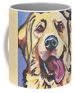 Solid Gold Coffee Mug