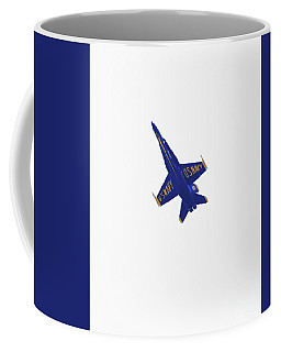 Solitary Blue Angel Coffee Mug