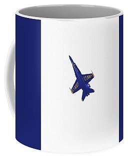 Solitary Blue Angel Coffee Mug