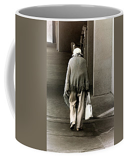 Solitary Lady Coffee Mug