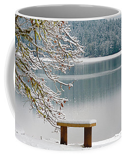 Solitary Snowscape Coffee Mug