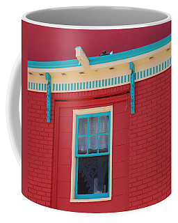 Coffee Mug featuring the photograph Solitary Window by Richard Bryce and Family