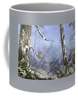 Coffee Mug featuring the painting Solitude by Jean Walker