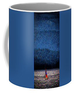 Coffee Mug featuring the photograph Solitude On Priest Lake by David Patterson