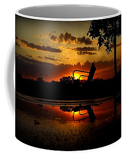Coffee Mug featuring the photograph Solitude by Viviana  Nadowski
