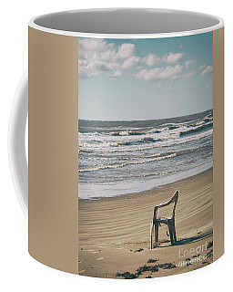 Solo On The Beach Coffee Mug