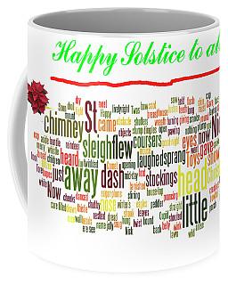 Solstice Greeting Coffee Mug