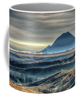 Some Bear Butte Fog Coffee Mug by Fiskr Larsen