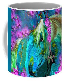 Some Horses Are Ladies Coffee Mug by Saundra Myles