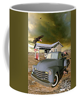 Some Things Just Refuse To Die Coffee Mug by Peter J Sucy