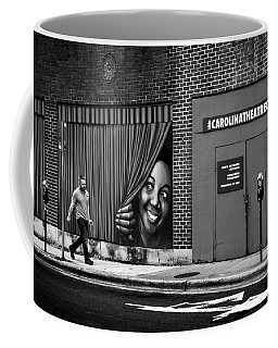 Coffee Mug featuring the photograph Somebody's Watching Me In Black And White by Greg Mimbs
