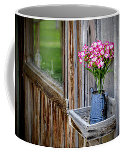 Coffee Mug featuring the photograph Something Old Something New by AJ Schibig