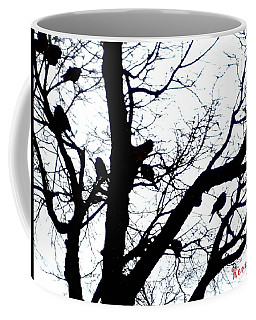 Coffee Mug featuring the photograph Something To Crow About by Sadie Reneau