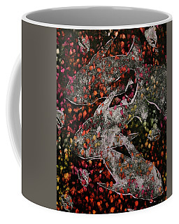 Coffee Mug featuring the mixed media Something's Fishy by Michele Myers