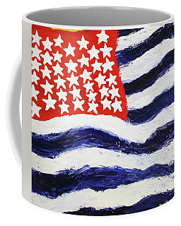 Something's Wrong With America Coffee Mug by Thomas Blood