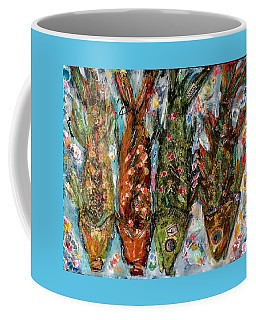 Somethin's Fishy Coffee Mug by M Stuart