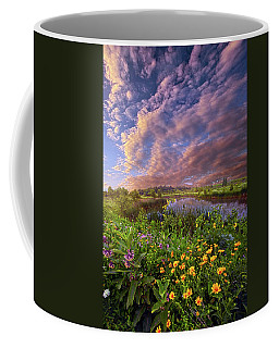 Sometimes We Are In Doubt But Never In Despair Coffee Mug