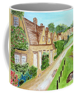Somewhere In Cotswolds South West England Coffee Mug