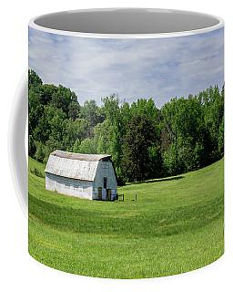 Barn In Green Pasture Coffee Mug